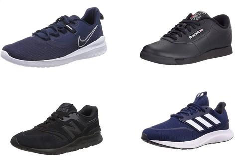 9 chollos en tallas sueltas de zapatillas Nike, Adidas o New Balance por menos de 30 euros en Amazon