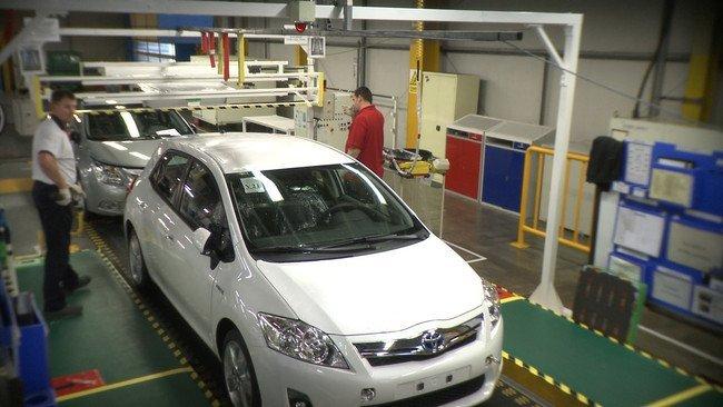 Produccion del Toyota Auris
