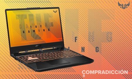 Este portátil gaming ASUS TUF Gaming FX506LU-HN106T es un chollo en el Red Friday de MediaMarkt: cuesta 150 euros menos y está más barato que en ninguna otra tienda