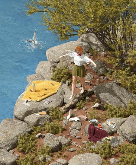 Camper presenta su nueva colección con una campaña en 3D diseñada por Max Guther que nos recuerda a Los Sims