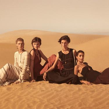 Zara presenta su campaña Studio Primavera-Verano 2019 en pleno desierto y algunas de sus prendas podrían agotarse antes de lo pensado