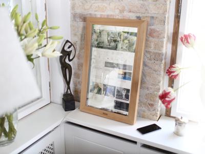 Dirror, el espejo inteligente sobre Windows 10 que quiere conquistar tu habitación o tu cuarto de baño