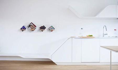 360 Shelf, un soporte minimalista que se adapta a tus necesidades de almacenaje de pared