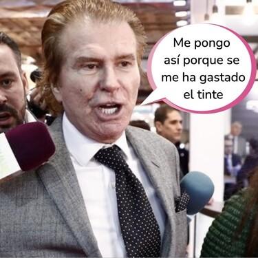Bigote Arrocet, desquiciado, se pone farruco con una periodista tras la entrevista de Gustavo, el confidente de María Teresa Campos