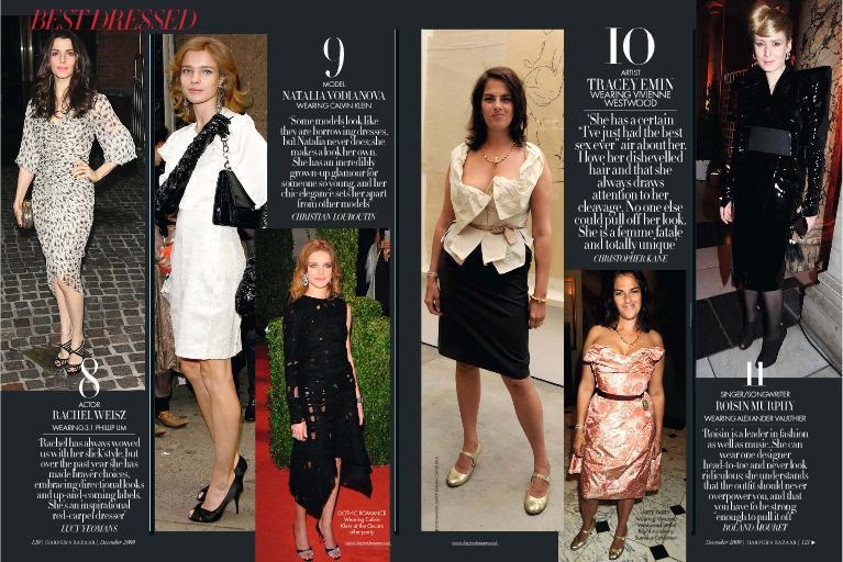 Foto de El Top 20 de las mejor vestidas de 2009 según Harper's Bazaar (4/9)