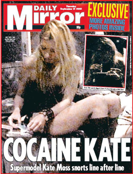 Cocaina kate moss