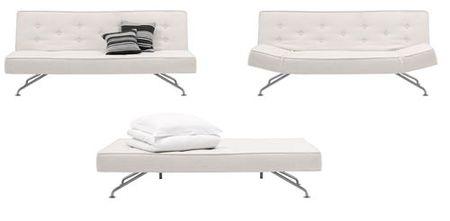 Sofá cama de Bo Concept.