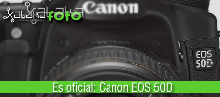 Canon EOS 50D, nueva réflex digital