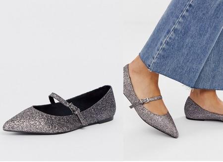 Zapatos Glitter Asos
