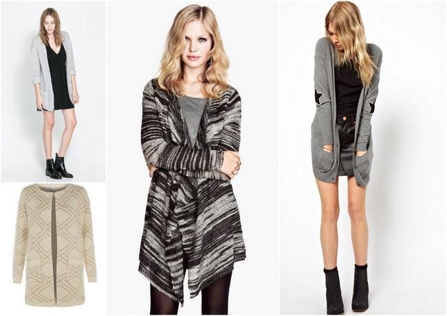Claves de moda para ir de shopping: cárdigans de punto para ...