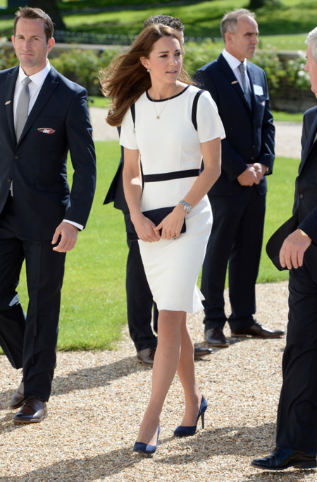Kate Middleton vestido blanco
