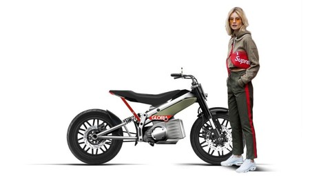 Gloria Electric Motorcycle 3