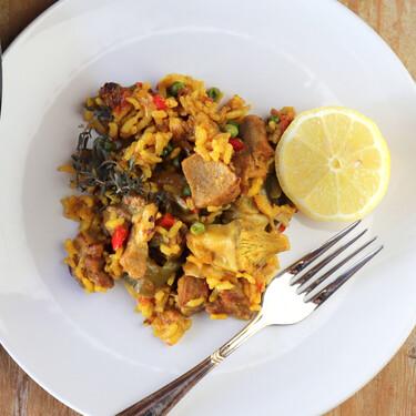 Receta de arroz campero, el más típico de Andalucía