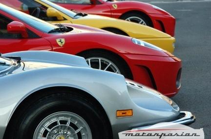 Ferrari Club España en el Martini Legends de Montjuïc
