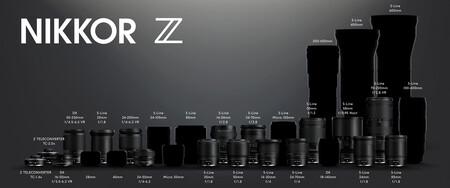 Nikon actualiza su ecosistema de objetivos para sus mirrorless del sistema Z y promete tres nuevas ópticas para 2022