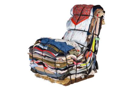 Recicla tu ropa en un sillón