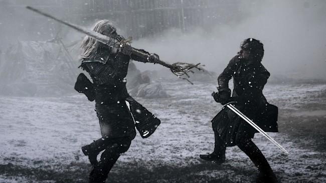 Jon Snow White Walker