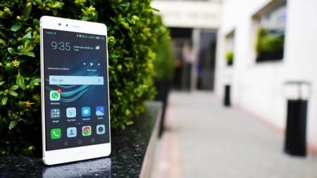 Huawei P9 - frontal pantalla 5,2 pulgadas