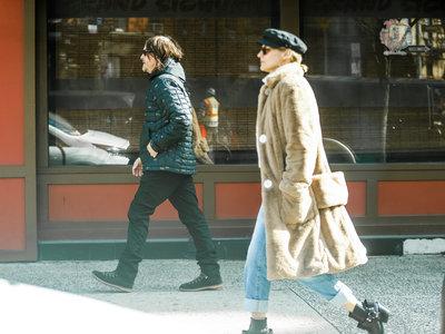 Este es el look de Diane Kruger que te va a inspirar en los días más fríos del año