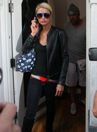 Los diamantes del bolso de Paris Hilton