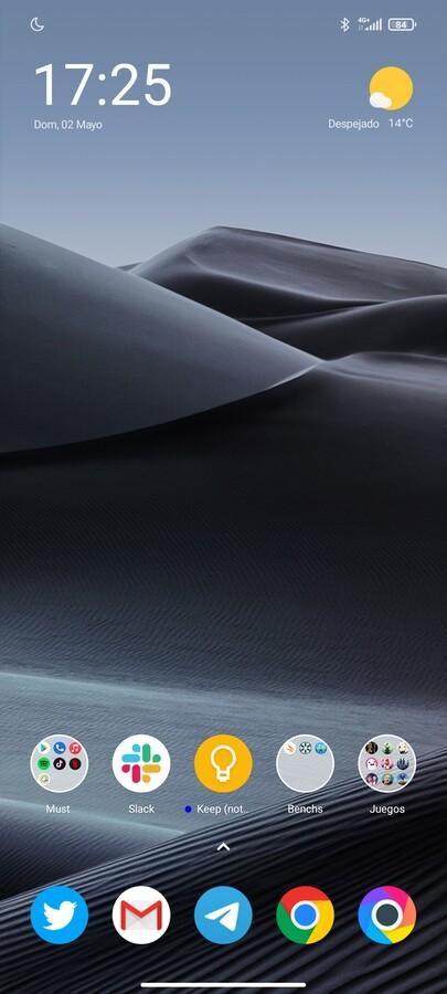 Capturas de pantalla del Xiaomi Poco X3 Pro