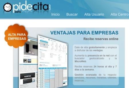 PideCita, citas para tu negocio por Internet