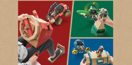 Todas las claves del kit de vehículos de Nintendo Labo