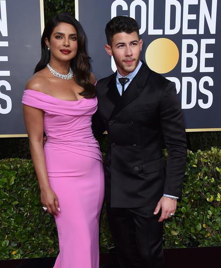 Priyanka Chopra y Nick Jonas la pareja con más glamour de los Globos de Oro 2020