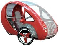 ELF un nuevo vehículo que combina la energía solar y el pedaleo