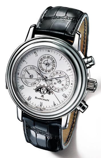 La serie limitada en mayúsculas: Blancpain 1735. Reloj de lujo