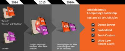 AMD se lanza en busca de su hueco en el mercado ARM