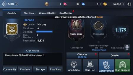 Informacion Clan