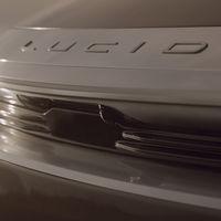 ¡Pillado! El próximo coche eléctrico de Lucid Motors será un SUV que se ha dejado ver antes de tiempo