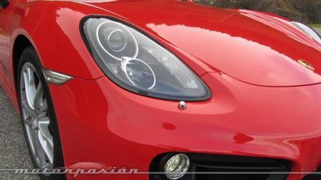 Porsche Cayman 2013 óptica