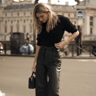Los pantalones de efecto piel están dispuestos a seguir entre nosotras este año: siete modelos ideales para diferentes cuerpos