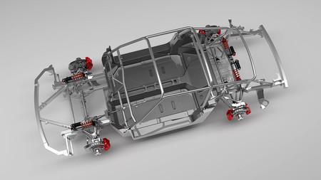 Ruf SCR Monocoque Chassis