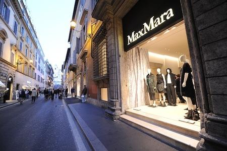 Max Mara vuelve a abrir su tienda de Roma