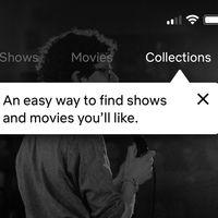 Netflix empieza a probar en iOS las 'Colecciones': listas hechas por personas