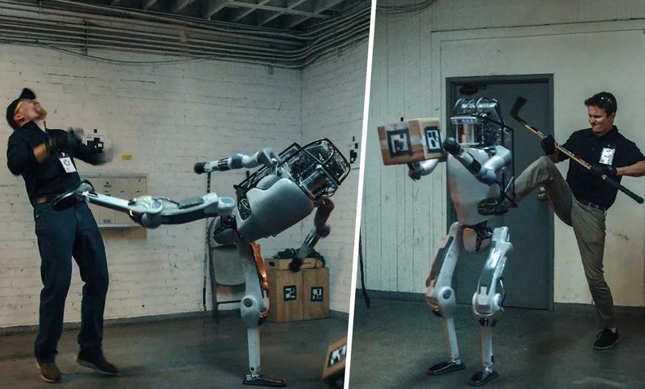 El vídeo del supuesto robot de Boston Dynamics siendo maltratado no es real, es un asombroso trabajo de CGI