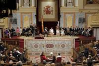 Parlamento Felipe VI Letizia Ortiz rey reina