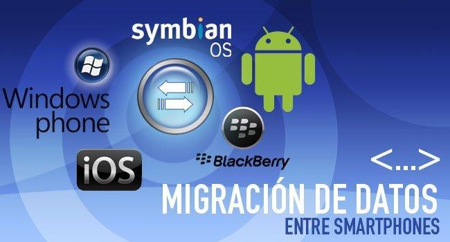 Migración de datos entre smartphones