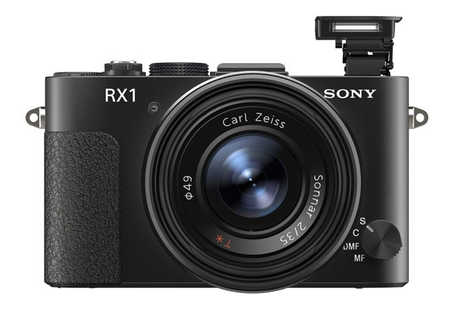 Sony RX1 con flash
