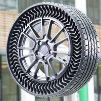 Michelin pone a rodar sus neumáticos sin aire a prueba de pinchazos y promete tenerlos en la calle en 2024