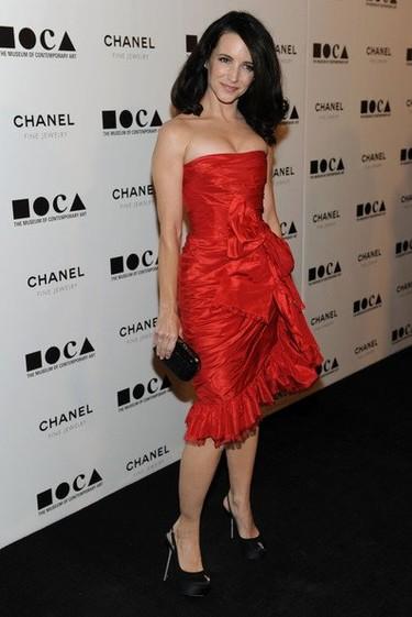 Alfombra roja de la gala MOCA 2010: Kristin Davis, Rachel Bilson, Chloe Sevigny y muchas más