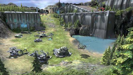 'Halo Wars' se muestra en cuatro nuevas imágenes