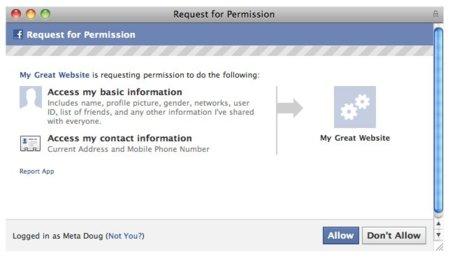 Las aplicaciones de Facebook tendrán acceso a nuestro número de teléfono