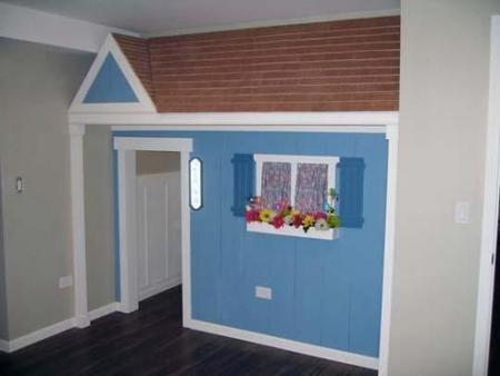 Una buena idea: una casa de juegos dentro de casa