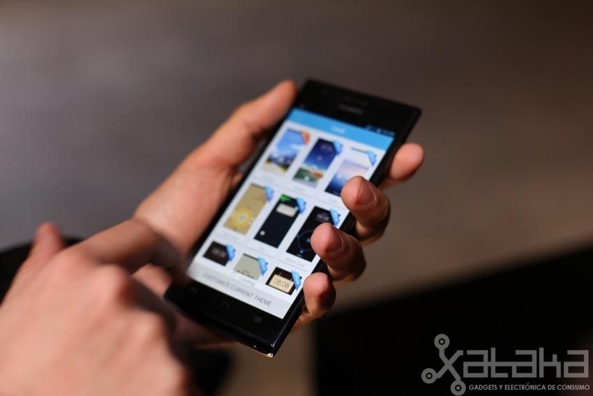 Huawei Ascend P2 toma de contacto
