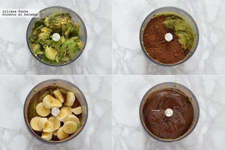 Crema Aguacate Chocolate Pasos