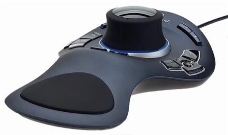 Fujitsu SpaceExplorer 3D, ratón en tres dimensiones